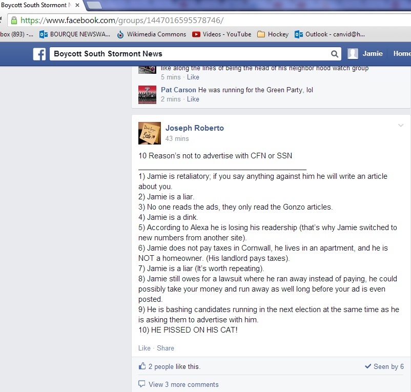 aug 26 FACEBOOK roberto 10 Reasons to boycott