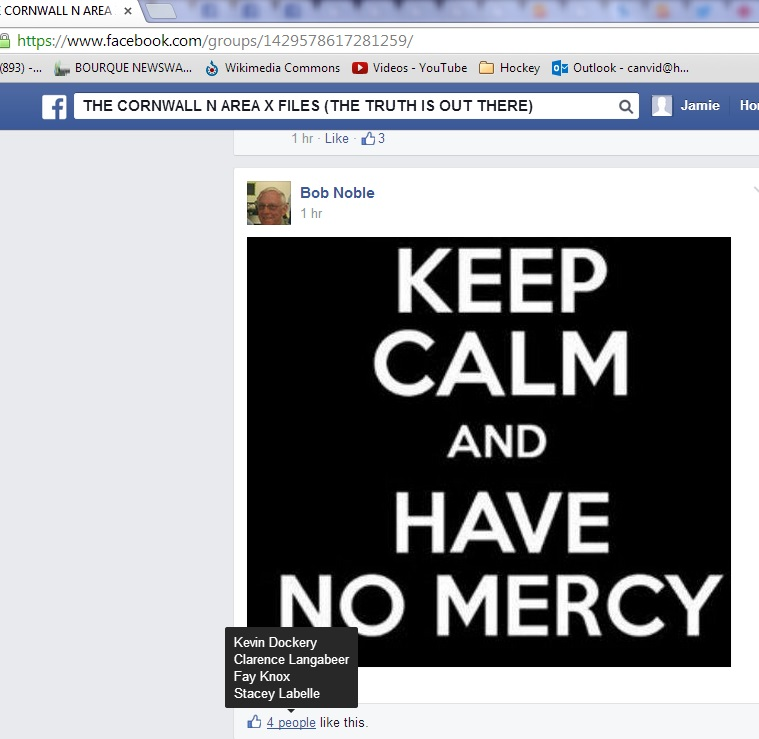 july 14 FACEBOOK noble no mercy