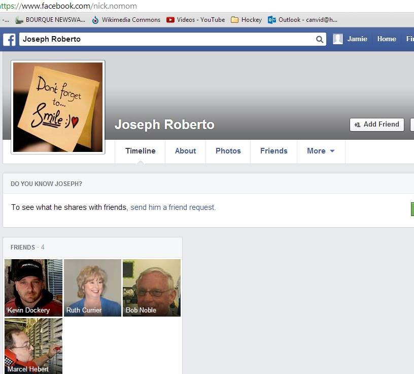 july 19 FACEBOOK boycott joseph roberto