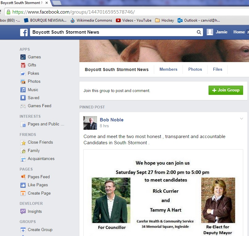 sept 26 FACEBOOK boycott group pinned hart & currier